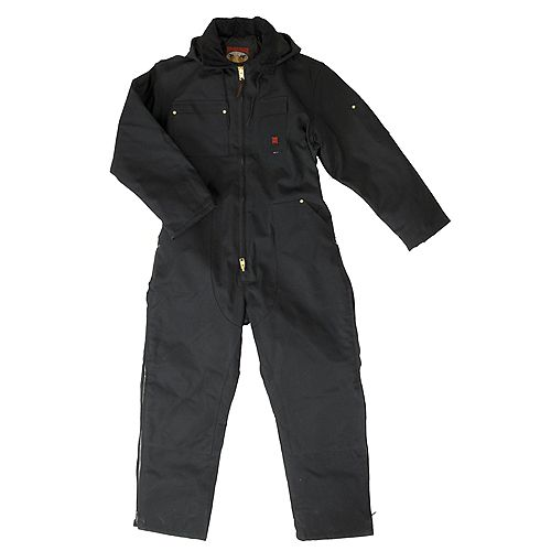 Tough Duck Heavyweight Coverall Black 2X Large