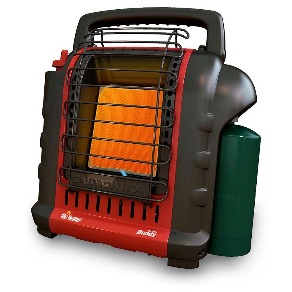 "Mr. Heater MH9BX Portable ""Buddy"" Heater - 4,000 and 9,000 BTU/Hr."