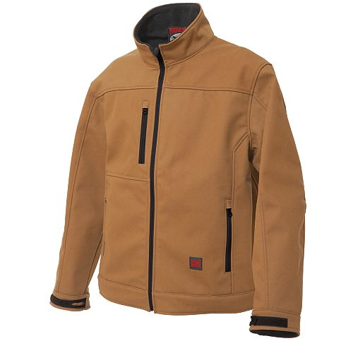 Softshell Jacket Brown Medium