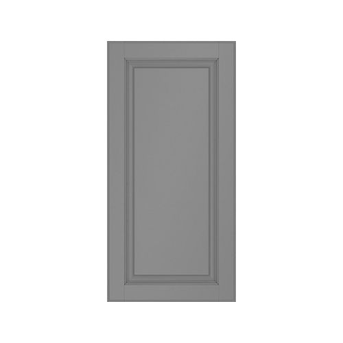 Porte grise laquée 5 mcx. 15 X 18 Buckingham