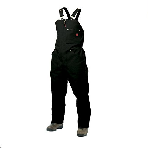Insulated Bib Overall Black 2X Large