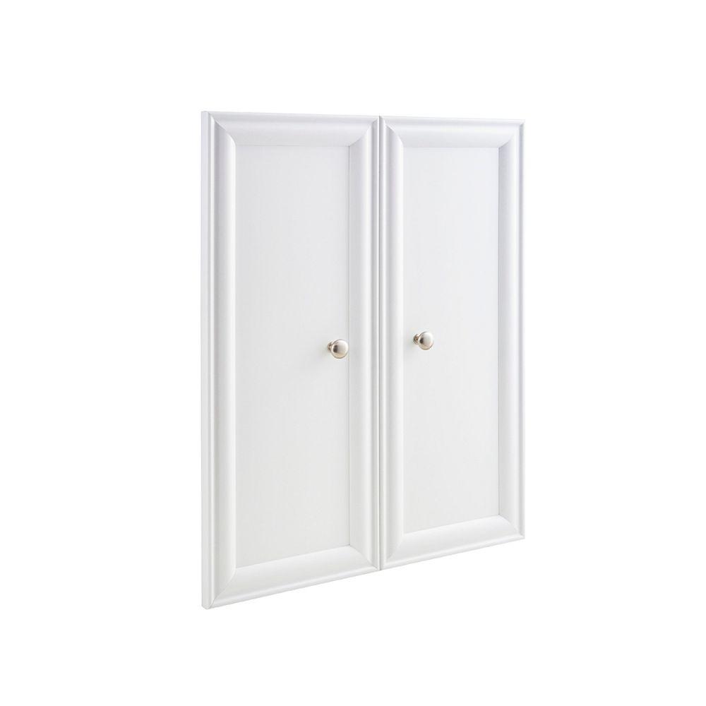 ClosetMaid 30-inch x 23.5-inch  Selectives Decorative Panel Doors