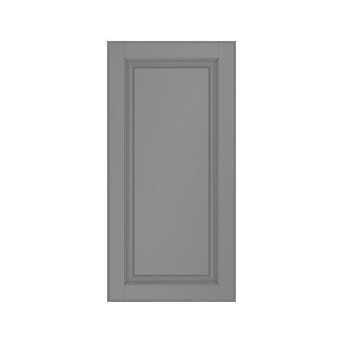 Façade de tiroir grise laquée 5 mcx. 24 X 15 Buckingham