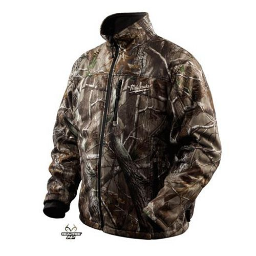 Milwaukee Tool M12  Realtree Ap  Camo Premium Multi-Zone Heated Jacket With Battery- Xxlarge