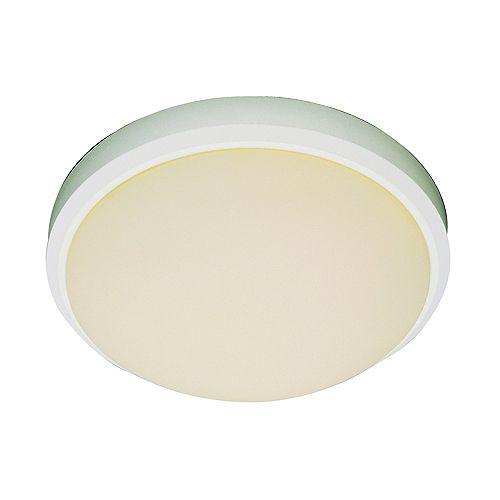 Bel Air Lighting Luminaire affleurant, bord blanc, 38,10 cm (15 po)