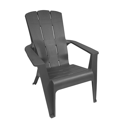 Contour Patio Muskoka Chair in Grey