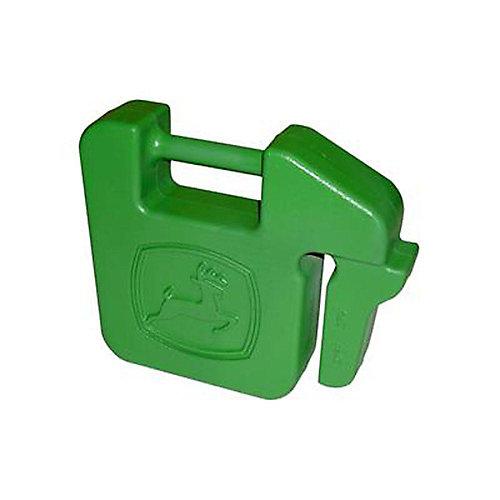 Contrepoids arrière en forme de mallette - paquet de 1