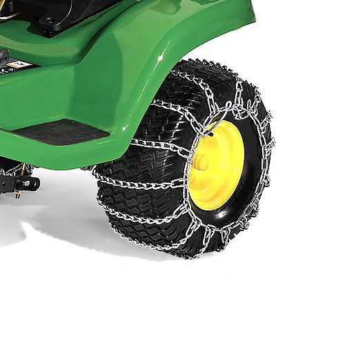 John Deere 20-inch Rear Tire Chains for Tractors