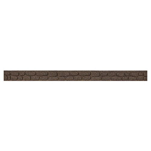 Multy Home Rockwall 48-inch L x 3.5-inch H Earth Garden Border