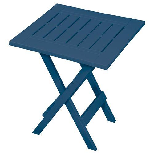 Blue azure Table d'appoint pliante
