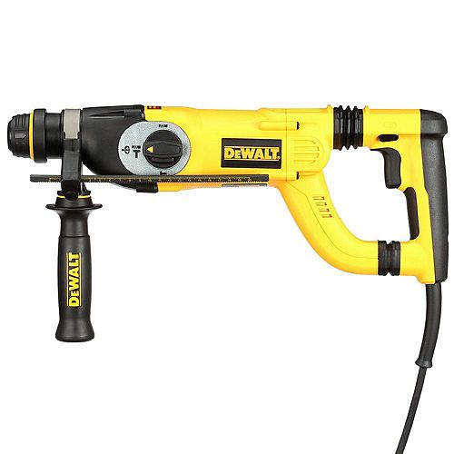 8 Amp 1-inch Corded SDS-plus D-Handle Concrete/Masonry Rotary Hammer with SHOCKS and Case