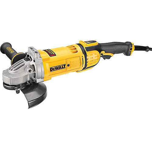 7-inch 4.9 hp Corded Angle Grinder with Guard
