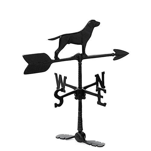 La girouette de chien - noir -24