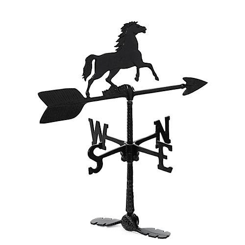 La girouette de cheval - noir -24