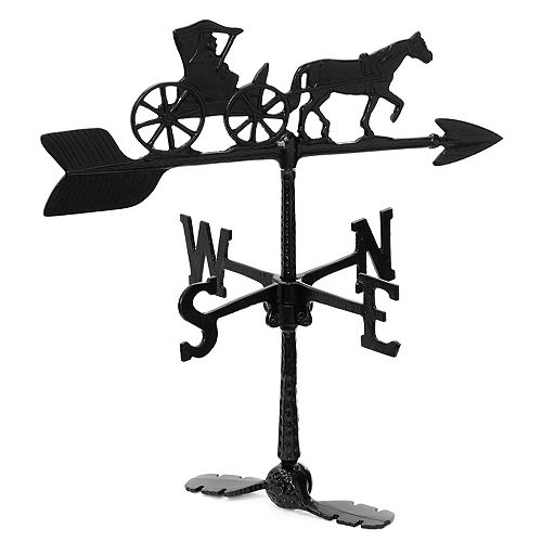 Country Doctor Weathervane - Black 24 Inch