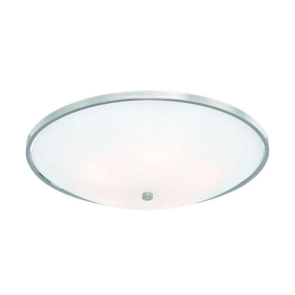 Eurofase Blanko Collection 5 Light Satin Nickel Flushmount