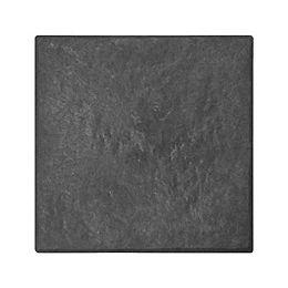 Dalle de pierre d'ardoise 12 po. x 12po. STOMP STONE SLATE 10/pqt