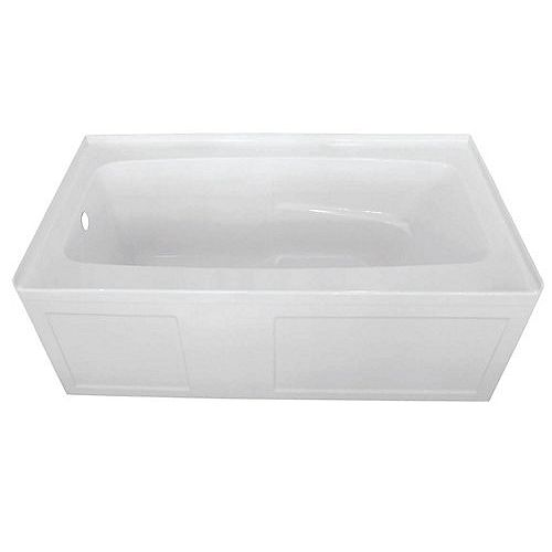 Ange 60x32 Skirted Tub With Left Hand Drain
