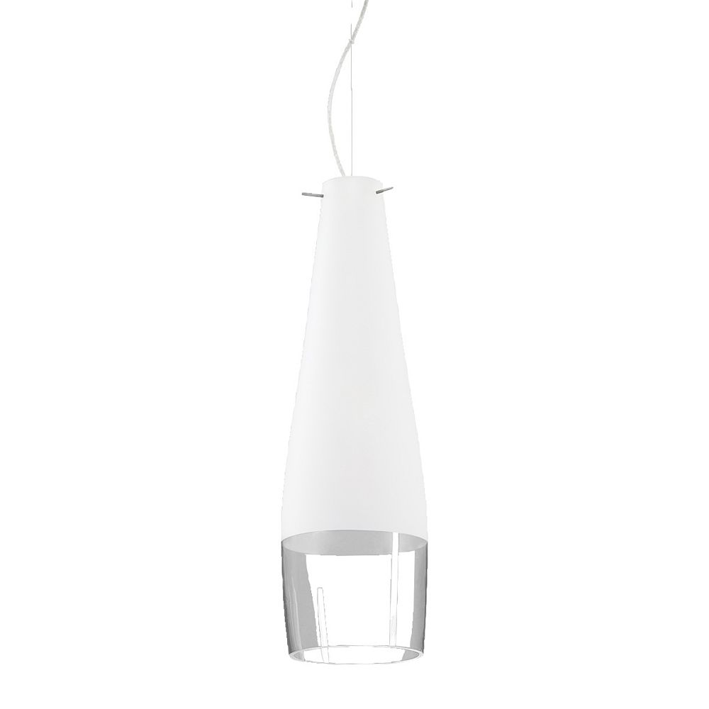 Eurofase Frossia Collection 1 Light Large Chrome Pendant