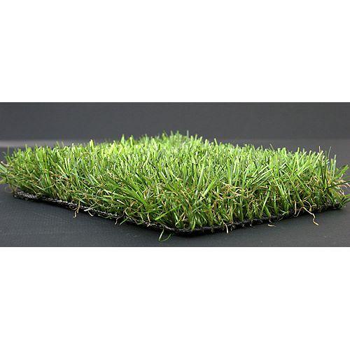 Majestueuse pelouse artificielle royale en gazon artificiel de 3,75 pi x 9 pi (34 pi2) de rouleau