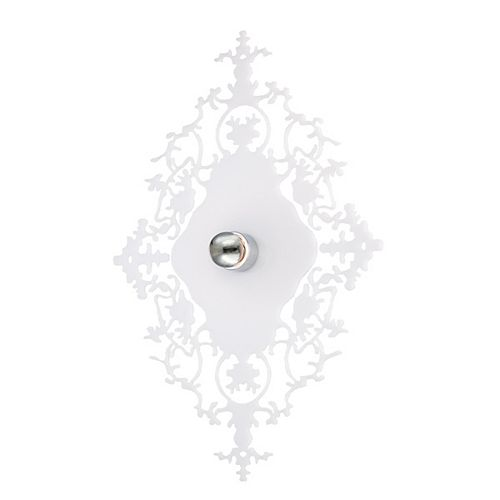 Eurofase Royal Collection 1 Light Milky White Wall Sconce