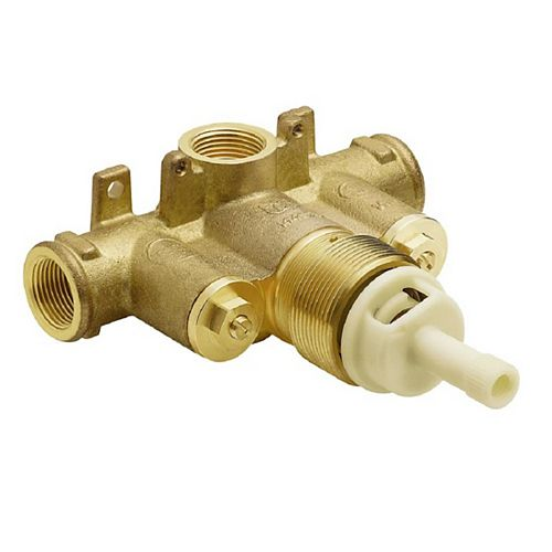 ExactTemp 3/4-inch Brass IPS Connection Includes Check Stops