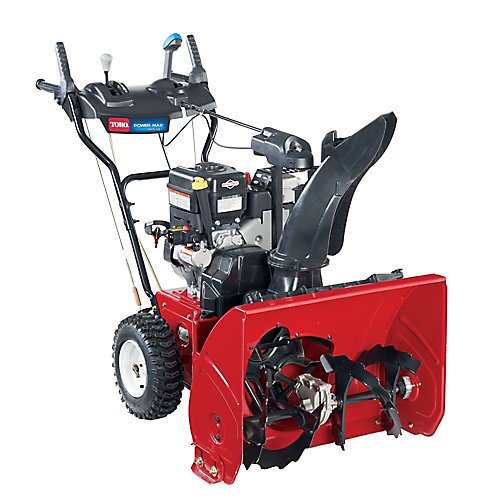 Power Max 826 OE 2-Stage Electric Start Gas Snow Blower with 26-inch Clearing Width
