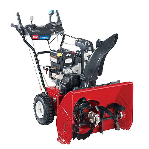 Power Max 826 OE 2-Stage Electric Start Gas Snowblower with 26-inch Clearing Width