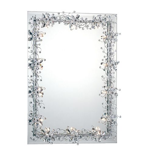 Relic Collection 14 Light Chrome Mirror