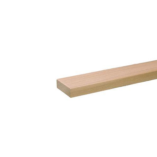 Planche de bricolage en Peuplier B4F _ 1/2 po x 4 po x 4 pi