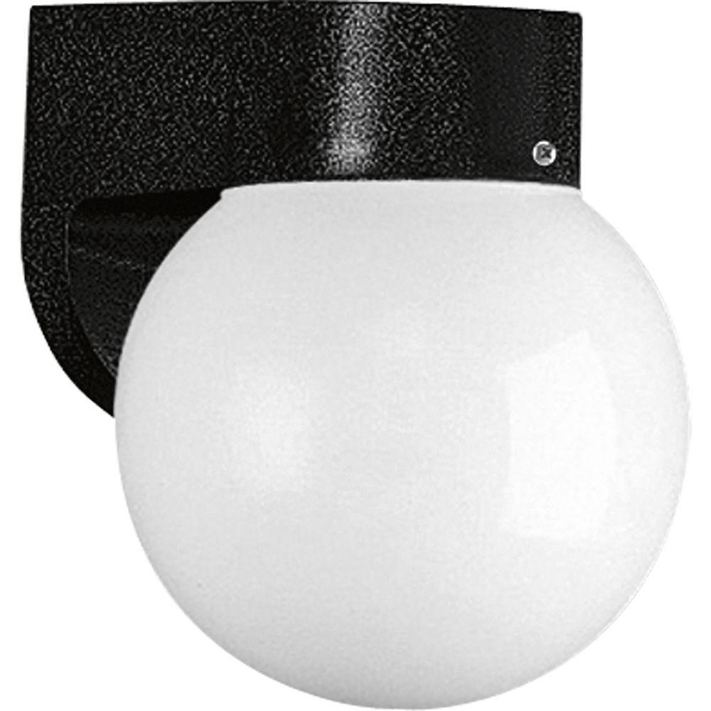 Progress Lighting 1-light Black Wall Lantern