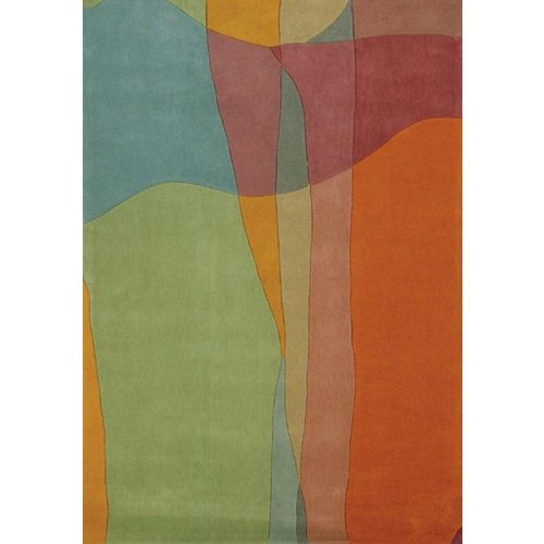 Festival Multi-Colour 8 ft. x 10 ft. Rectangular Area Rug