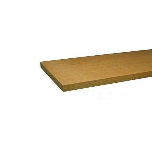 Planche de bricolage en Chêne B4F _ 1/2 po x 6 po x 4 pi