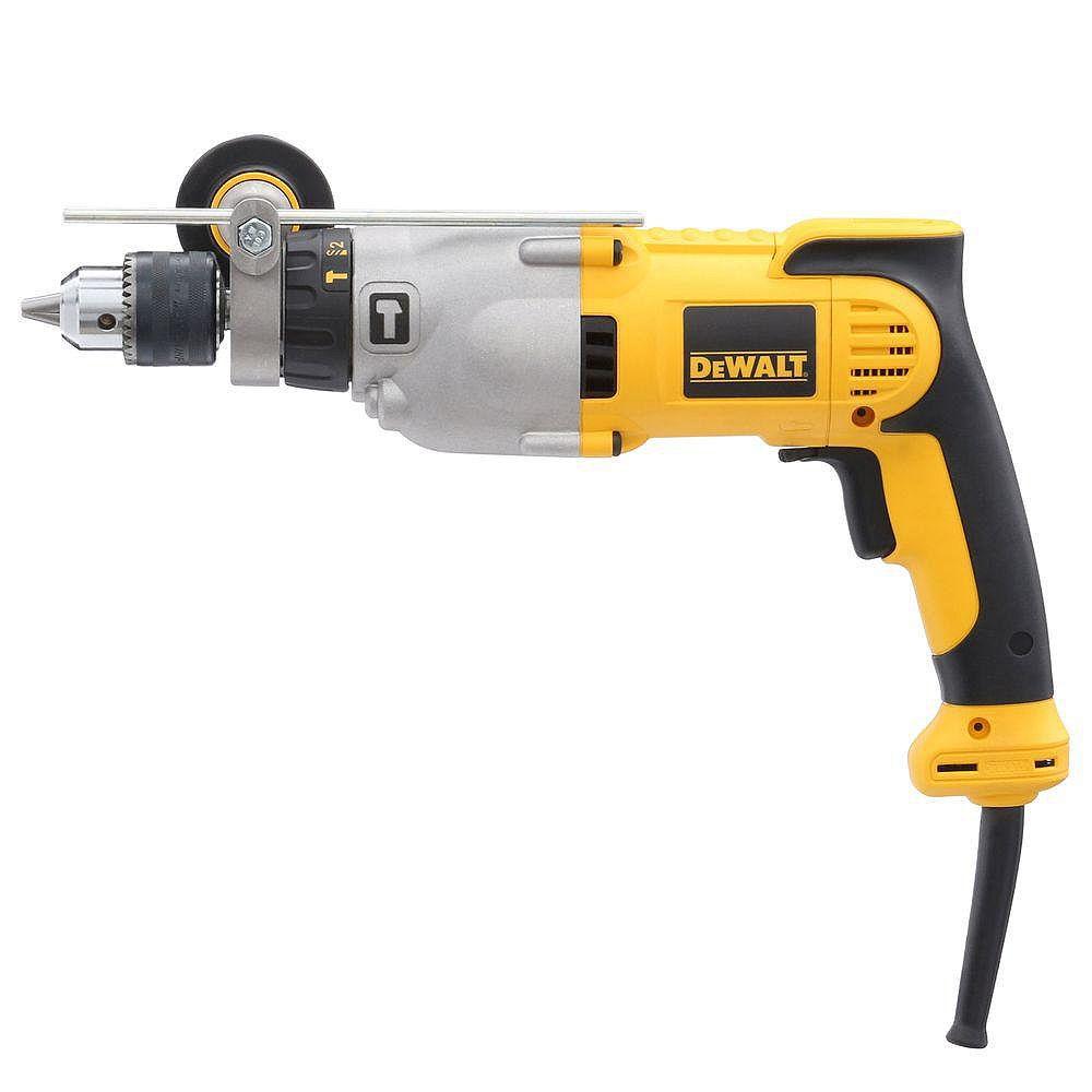 DEWALT 10 Amp 1/2-inch Variable Speed Reversible Pistol Grip Hammer Drill