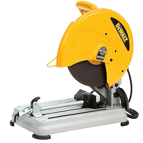 14-Inch Cut-Off Chop Saw With Quick-Change Wheel Release