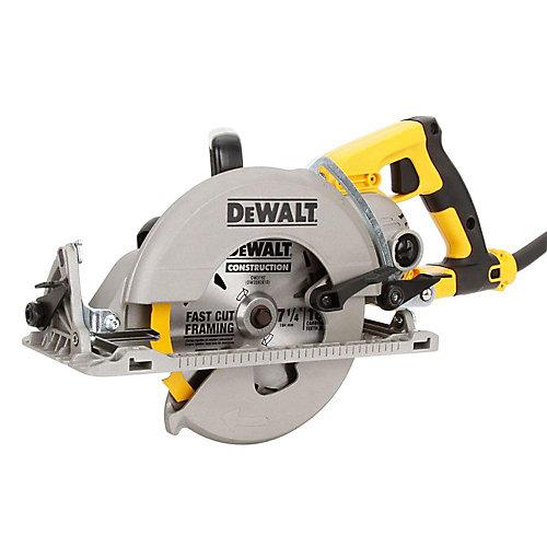 15 Amp 7-1/4-inch Worm Drive Circular Saw