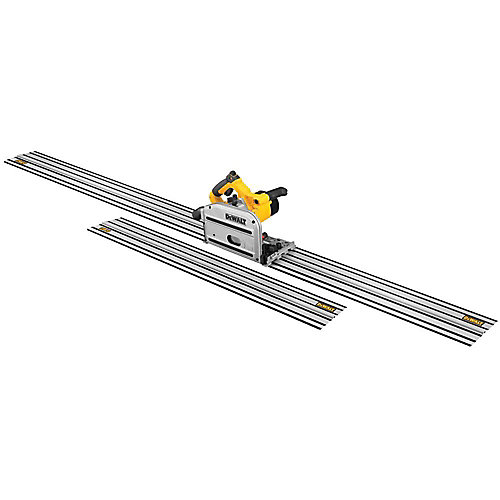 6-1/2-inch Track Saw Kit with 59-inch and 102-inch Tracks