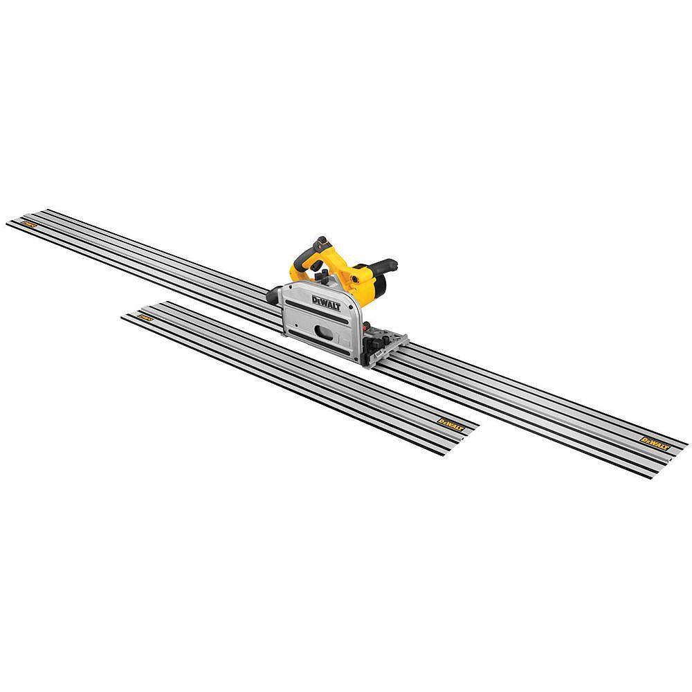 DEWALT 6-1/2-inch Track Saw Kit with 59-inch and 102-inch Tracks