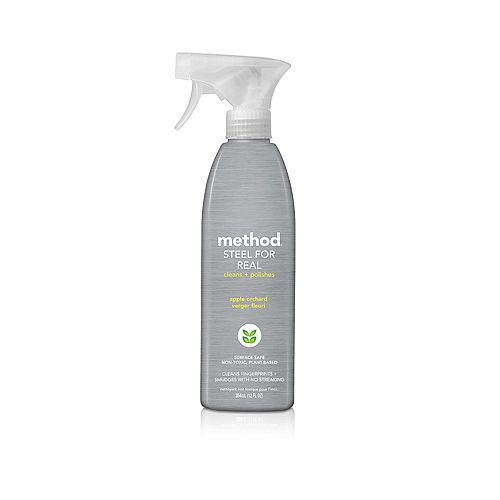 Method 12 oz. Real Apple Orchard Stainless Steel Spray Cleaner - dup omsid 100553796