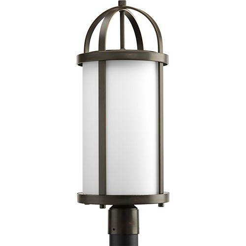 Progress Lighting Greetings Collection Antique Bronze 1-light Post Lantern