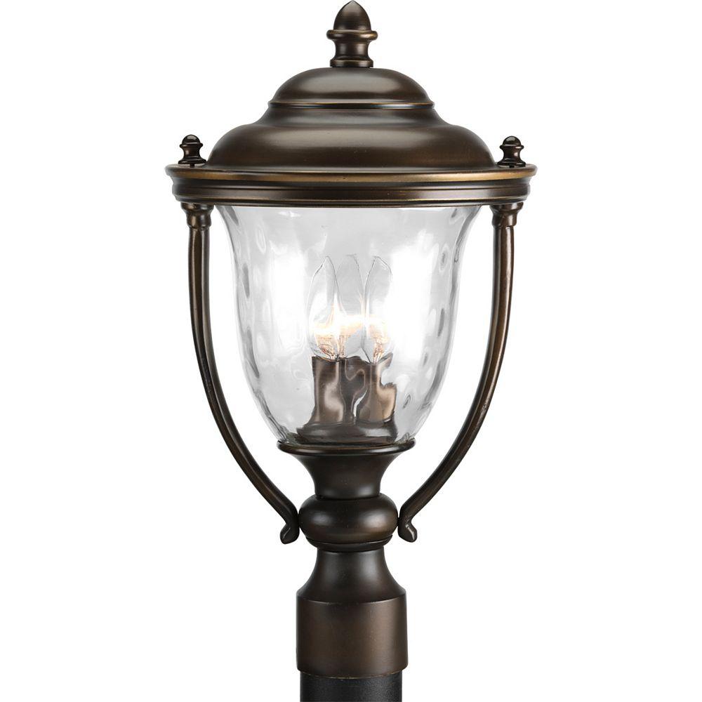Progress Lighting Lampadaire à 2 Lumières, Collection Prestwick - fini Bronze frotté d'huile