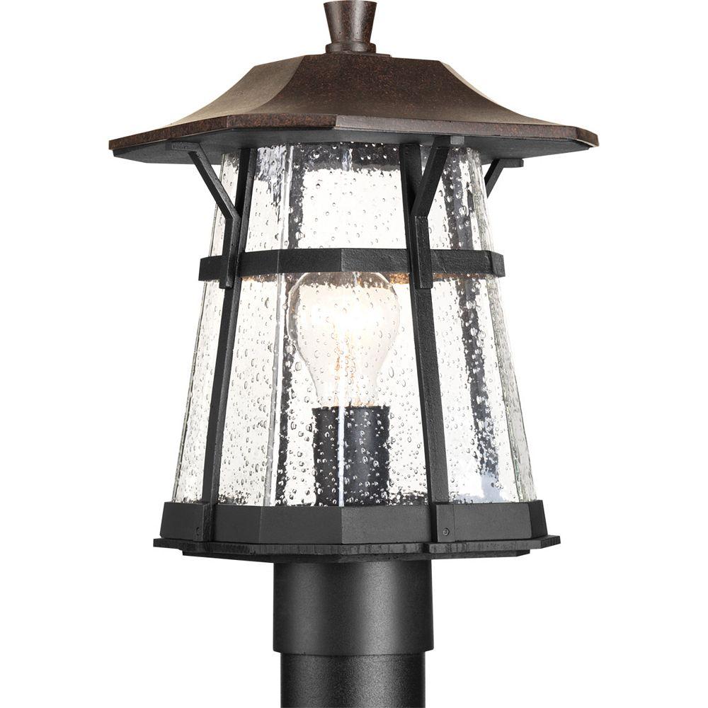Progress Lighting Lampadaire à 1 Lumière, Collection Derby - fini Espresso