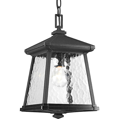 Mac Collection 1-light Black Hanging Lantern