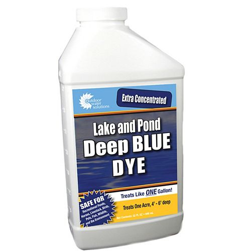 Deep Blue Super Concentrate Lake and Pond Dye