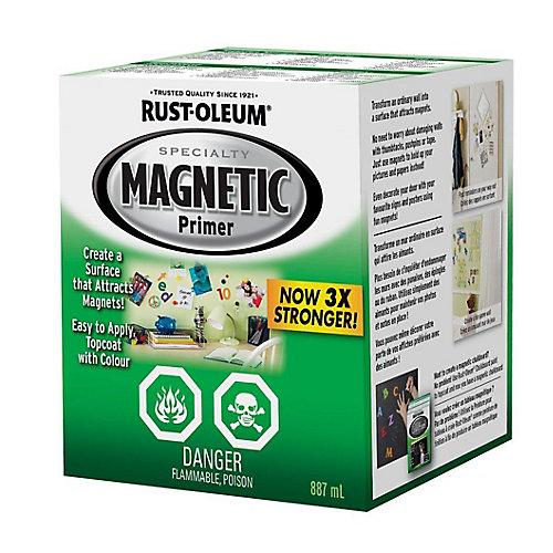 Apprêt Magnétique En Blanc Lustré - 887 Ml
