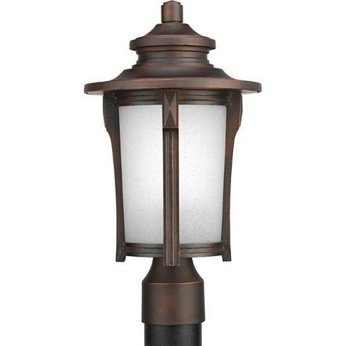 Lampadaire à 1 Lumière, Collection Pedigree - fini Brouillard d'Automne