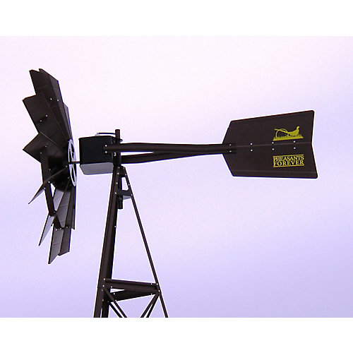 Eolienne bronze à 3 pattes pheasants forever – 20 pieds
