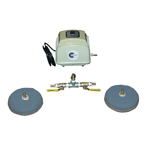 Outdoor Water Solutions AerMaster LD 4.0 CFM Electric Aeration Unit