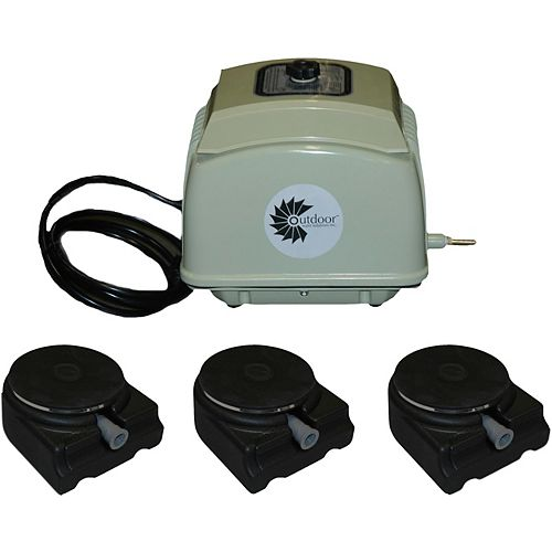 Outdoor Water Solutions AerMaster LD 7.0 CFM Electric Aeration Unit