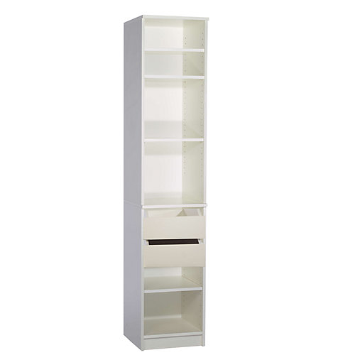 Narrow Tower With Free Drawer Kit
